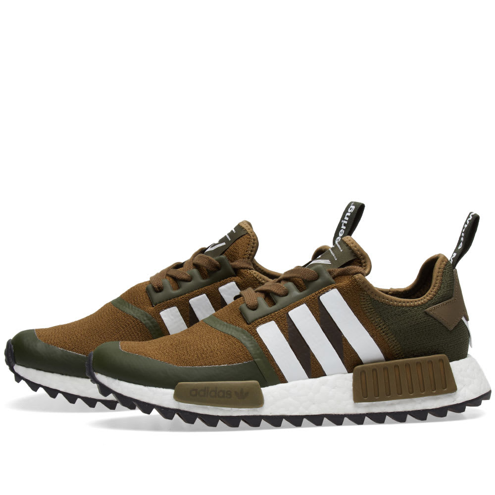 best website 7e5a5 c012a Adidas x White Mountaineering NMD Trail PK Trace Olive   White   END.