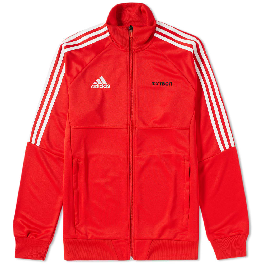 695004d5a85aa Gosha Rubchinskiy x Adidas Track Top Red   White