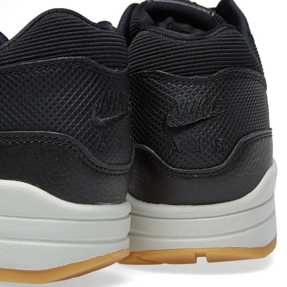 best service 30cc8 6acd4 Nike Air Max 1 Premium W Black, Gum Yellow   Summit   END.