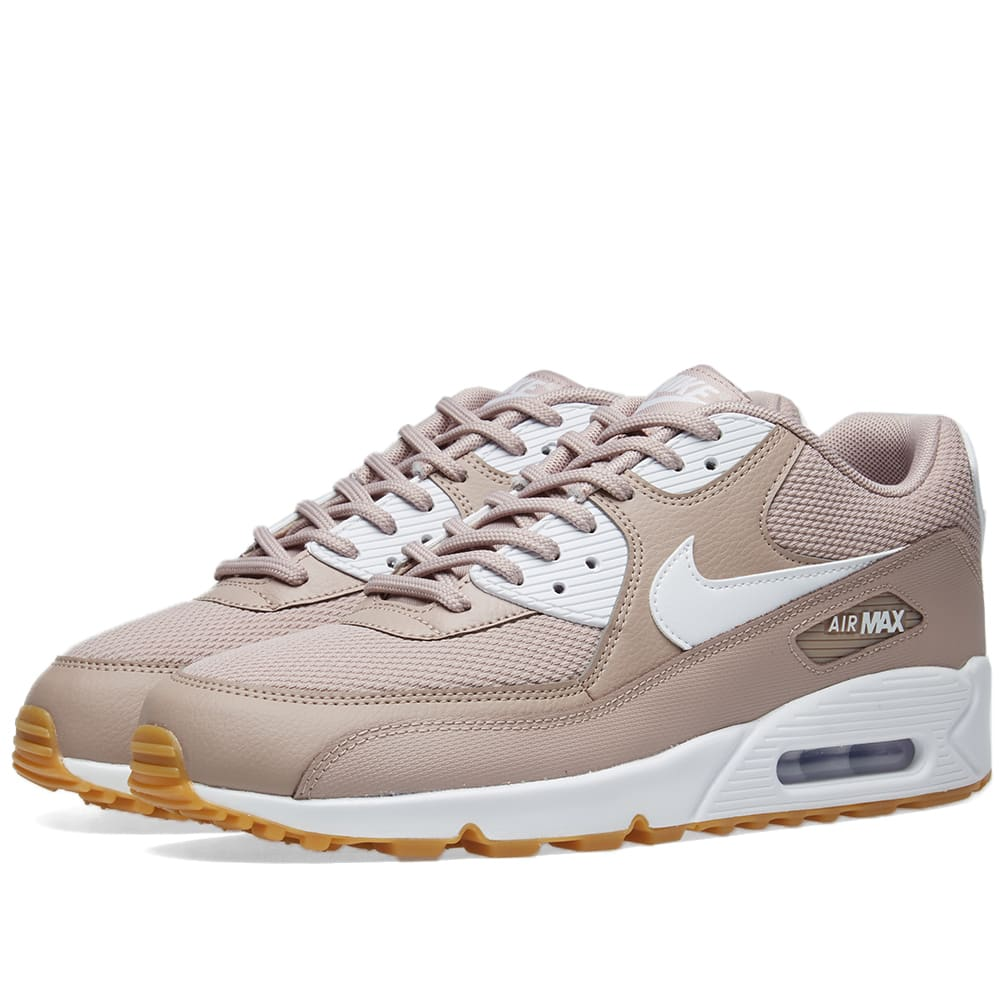 new style 363ad 54dbb Nike Air Max 90 W Taupe, White   Light Brown   END.