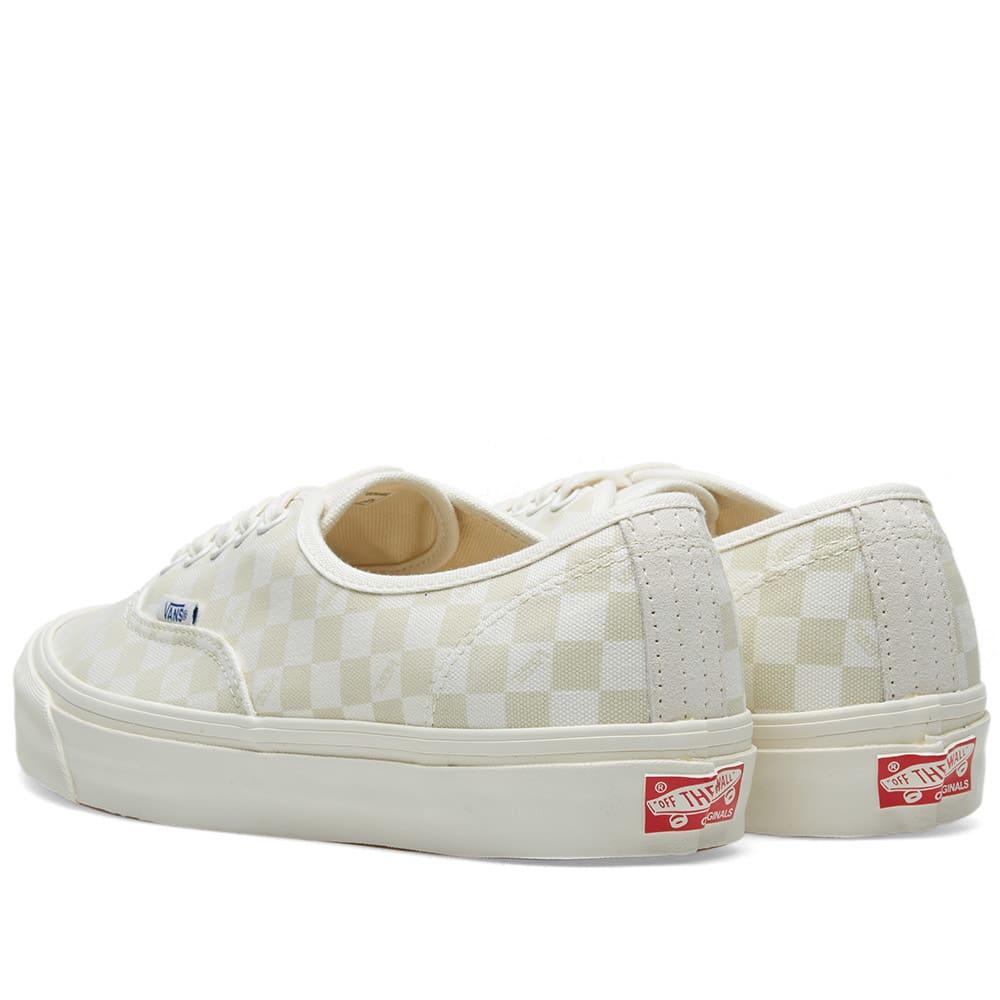 e369e764b8 Vans Vault OG Authentic LX Checkerboard   Marshmallow