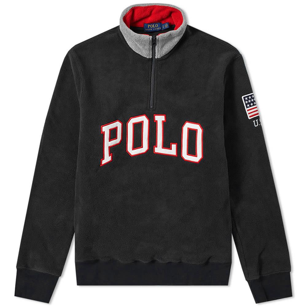 Polo Ralph Lauren Quarter Zip Sweat by Polo Ralph Lauren
