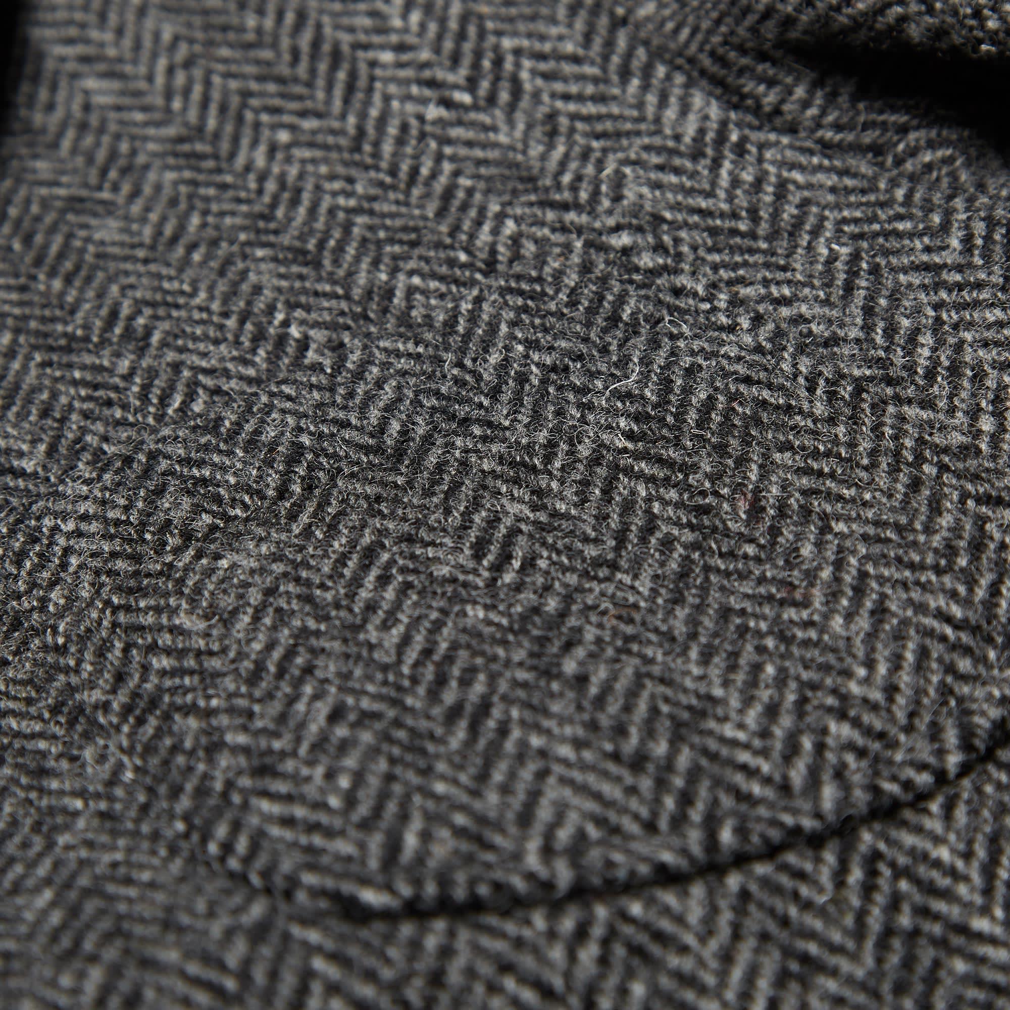 7ac77b59bf767 Beams Plus 3 Button Harris Tweed Blazer (Grey Herringbone)