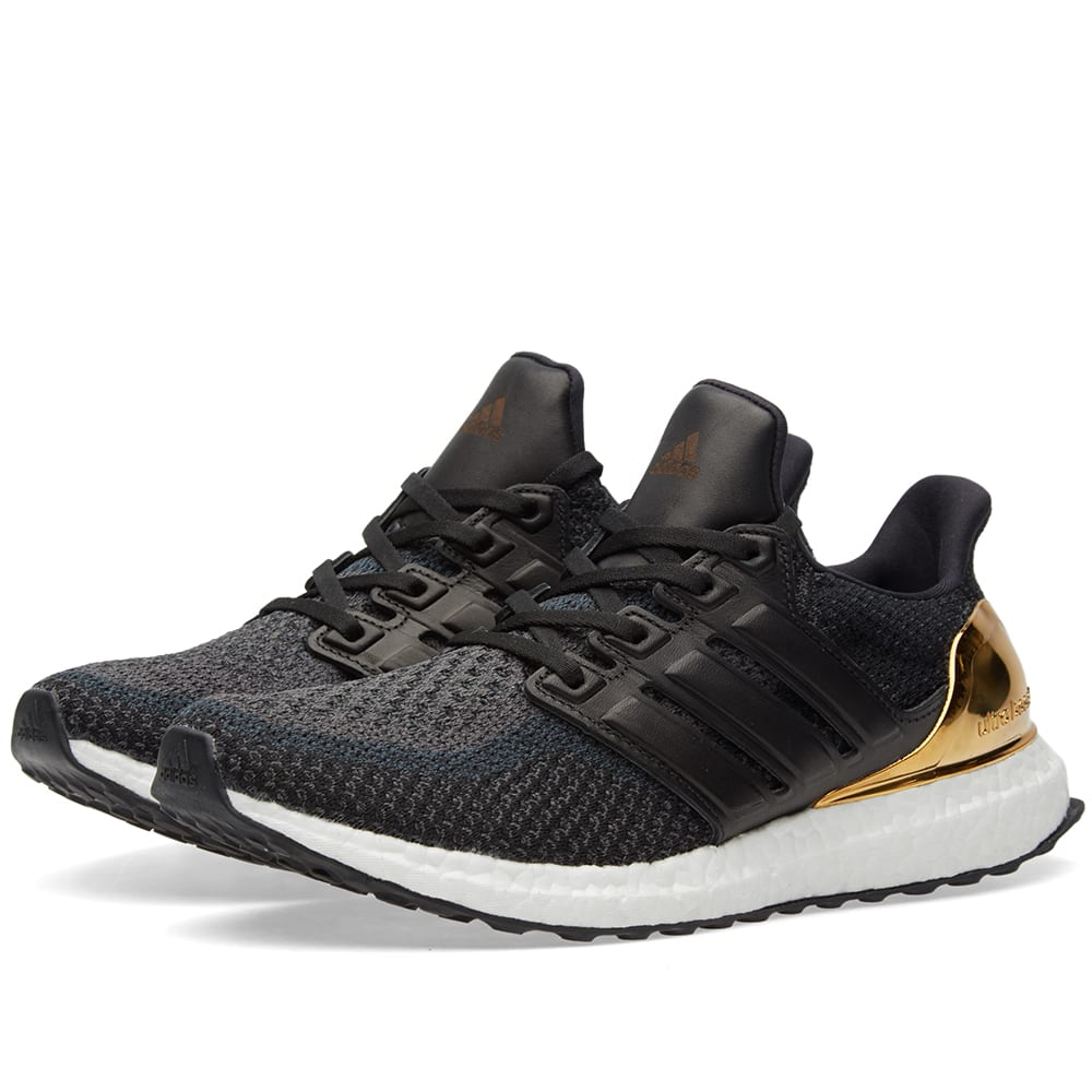 619a2c437c5 Adidas Ultra Boost Ltd. Black   Gold