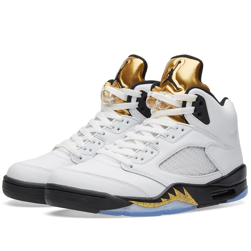 Jordan Metallic 5 S Fashion