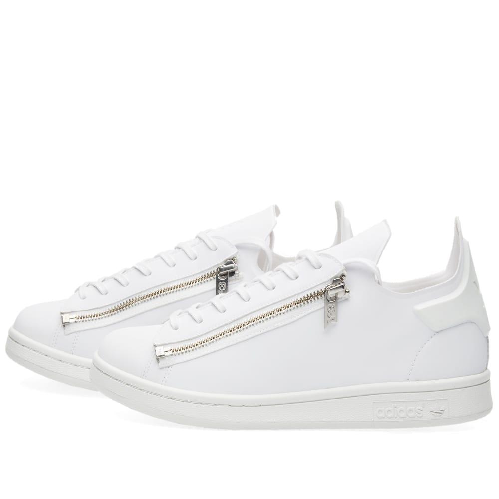 015568ebe Y-3 Stan Zip White   Crystal White
