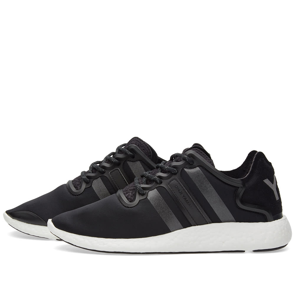 24f77c4a2 Y-3 Yohji Run Core Black   Reflective