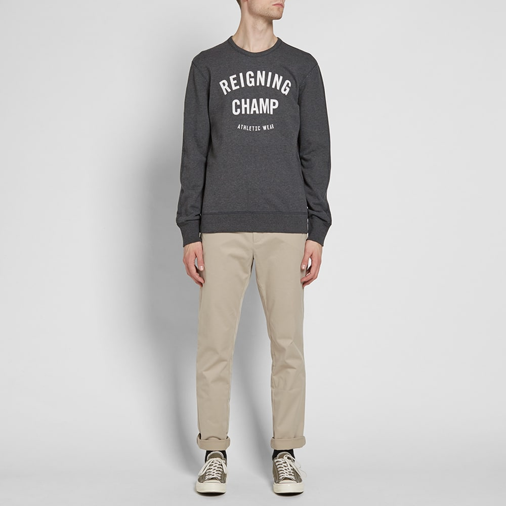 cheap new authentic select for official Reigning Champ Gym Logo Crew Sweat
