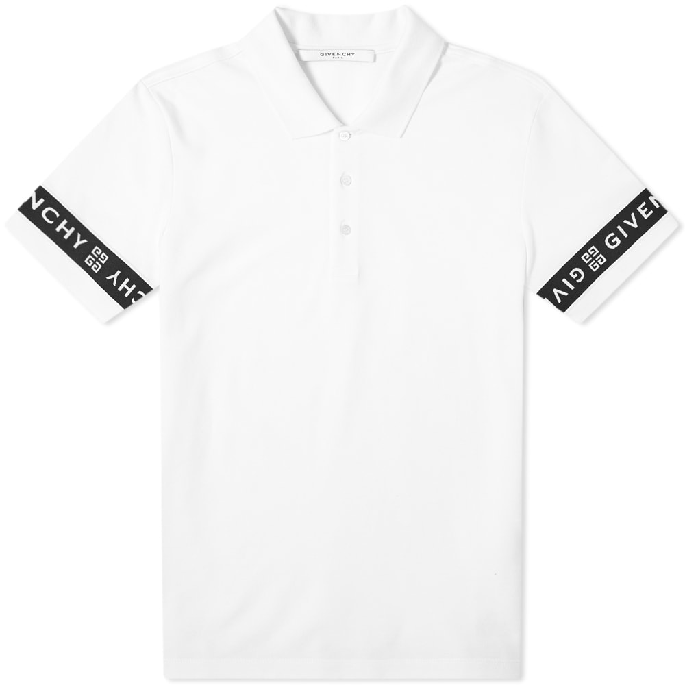 official photos 7312a f8665 Givenchy Taped Arm Polo