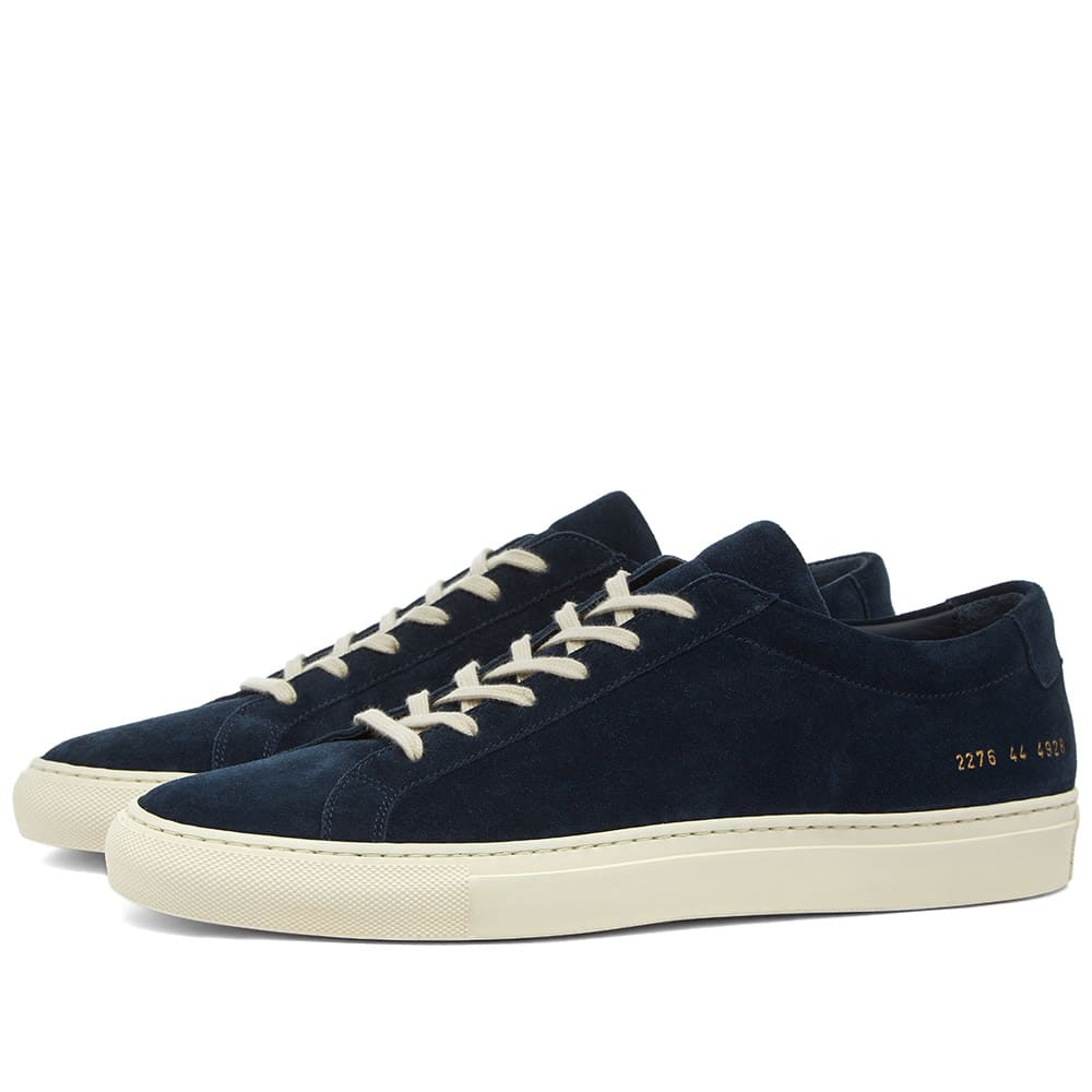 Common Projects Common Projects Achilles Low Suede Glassa Sole