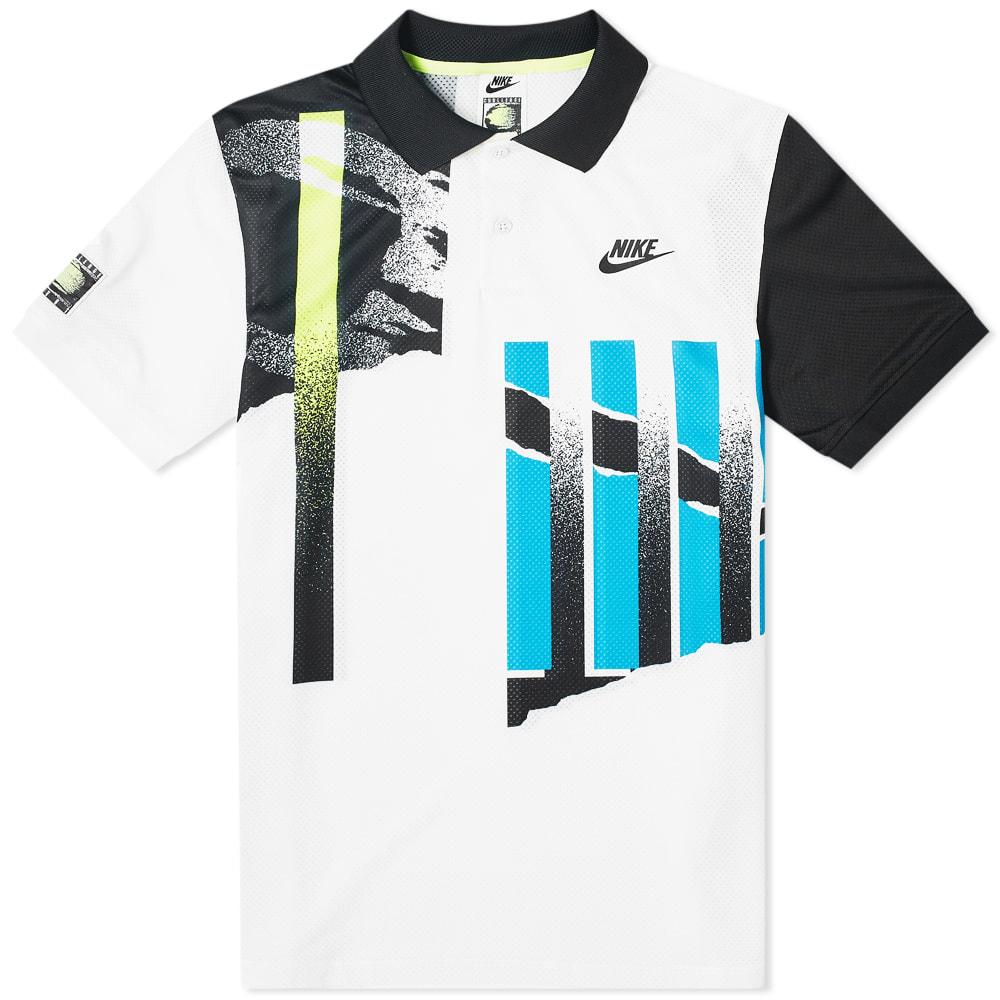 Nike Court Advantage Polo White, Black