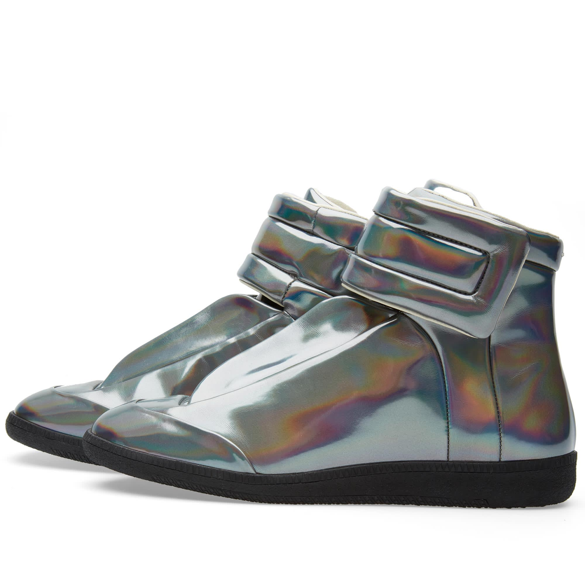 072b7917eff8 Maison Margiela 22 Future High Hologram Sneaker Gunmetal