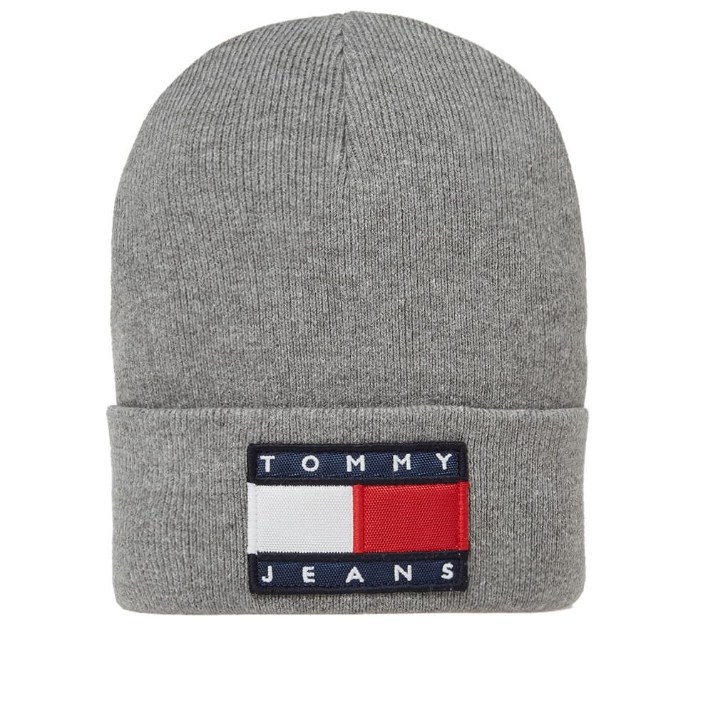 50ec5a37 Tommy Jeans 90s Beanie Grey Marl | END.