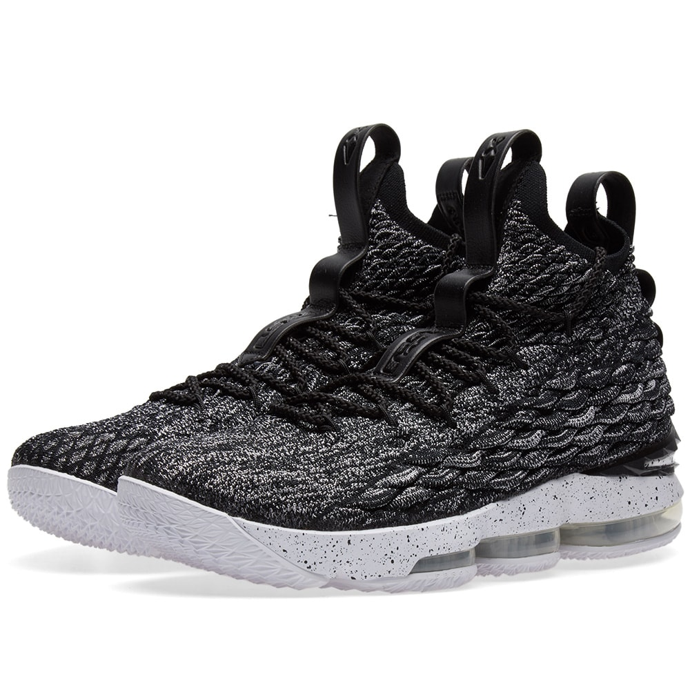 4fd14f615705 Nike Lebron XV Ashes Black   White