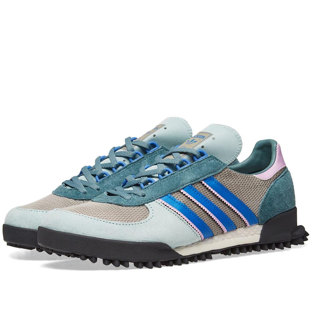 Adidas Marathon TR Ash Green, White