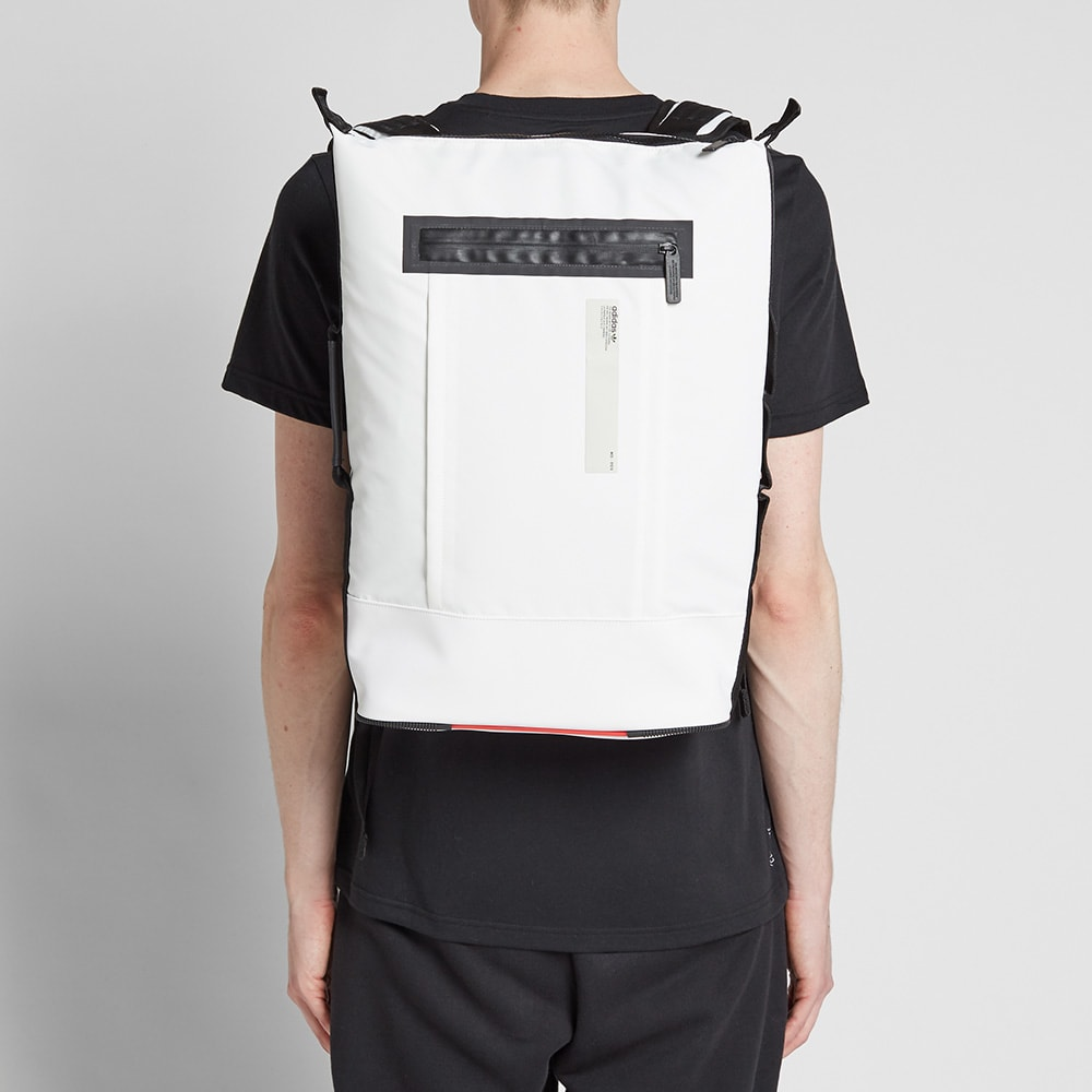 Adidas Small NMD Backpack Core White | END.