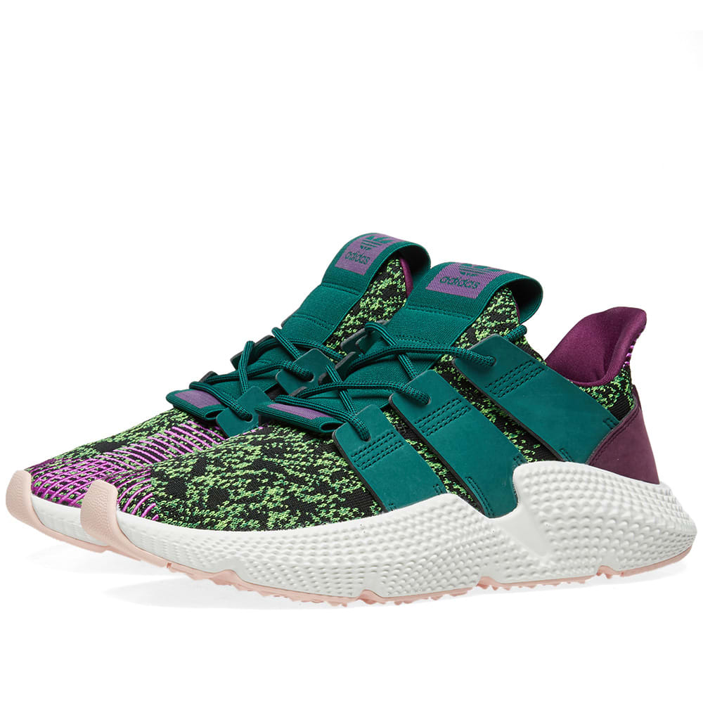 Reparación posible límite veterano  Adidas x Dragon Ball Z Prophere 'Cell' Green & Core Black | END.