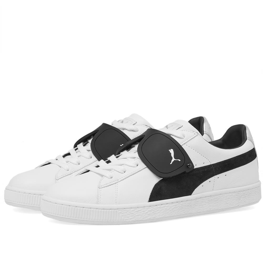 brand new 93c4c 019d5 Puma x Karl Suede Classic White   Black   END.