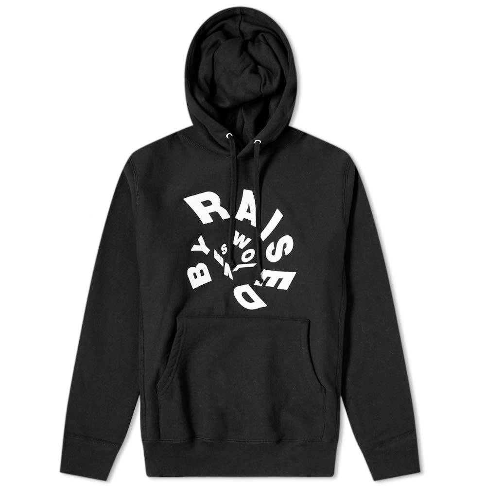 Raised By Wolves Twister Popover Hoody by Raised By Wolves