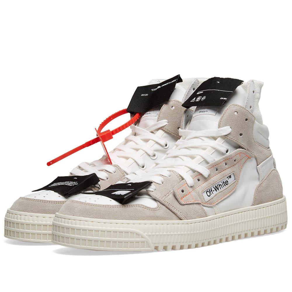 7eec8c557fadf3 Off-White Off-Court Sneaker White   Grey