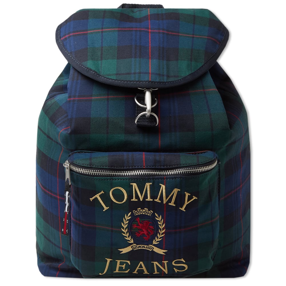 9c256be0 Tommy Jeans 6.0 Crest Heritage Backpack Plaid Check | END.