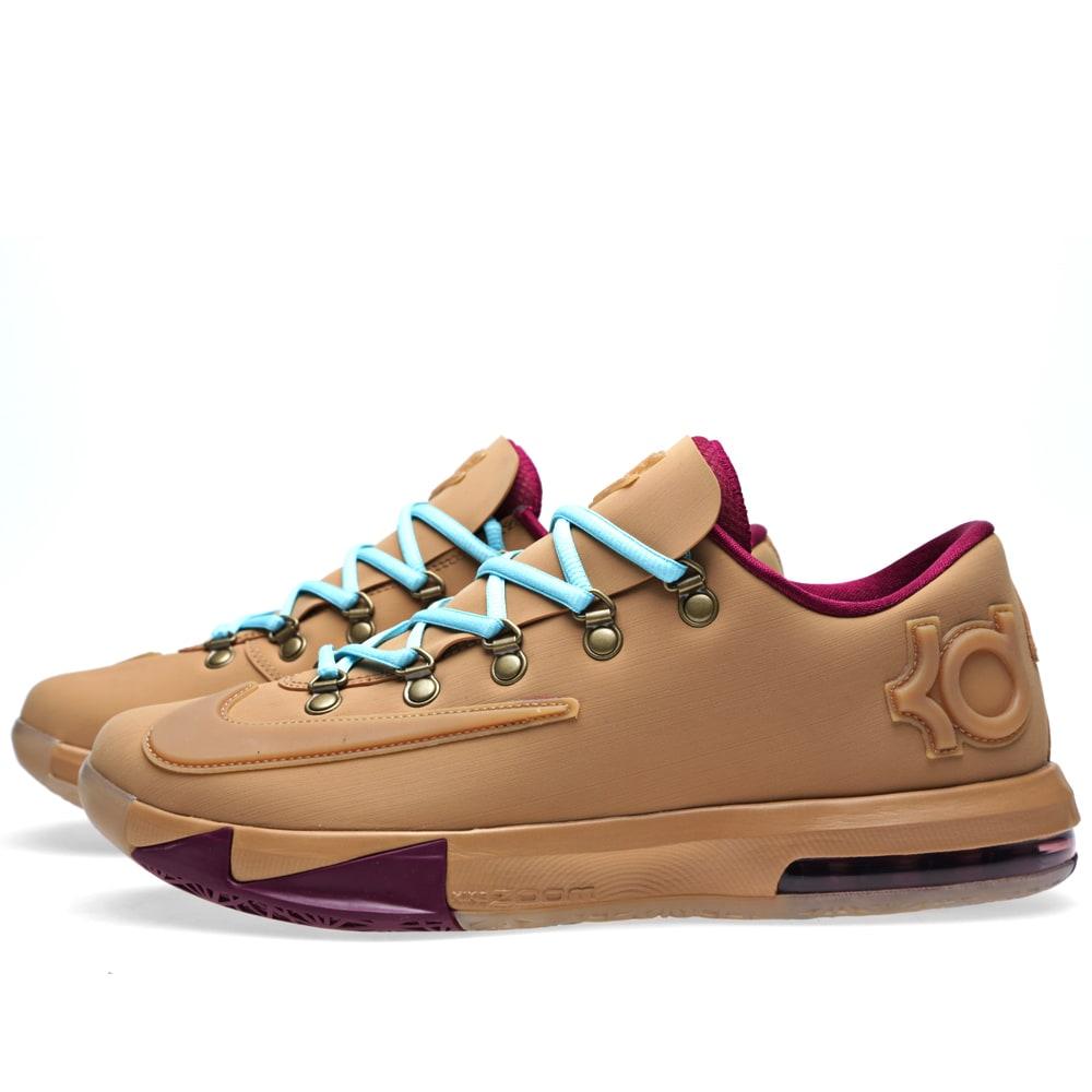 huge selection of ea187 dfe7b Nike KD VI Ext Gum QS Gum Light Brown   END.