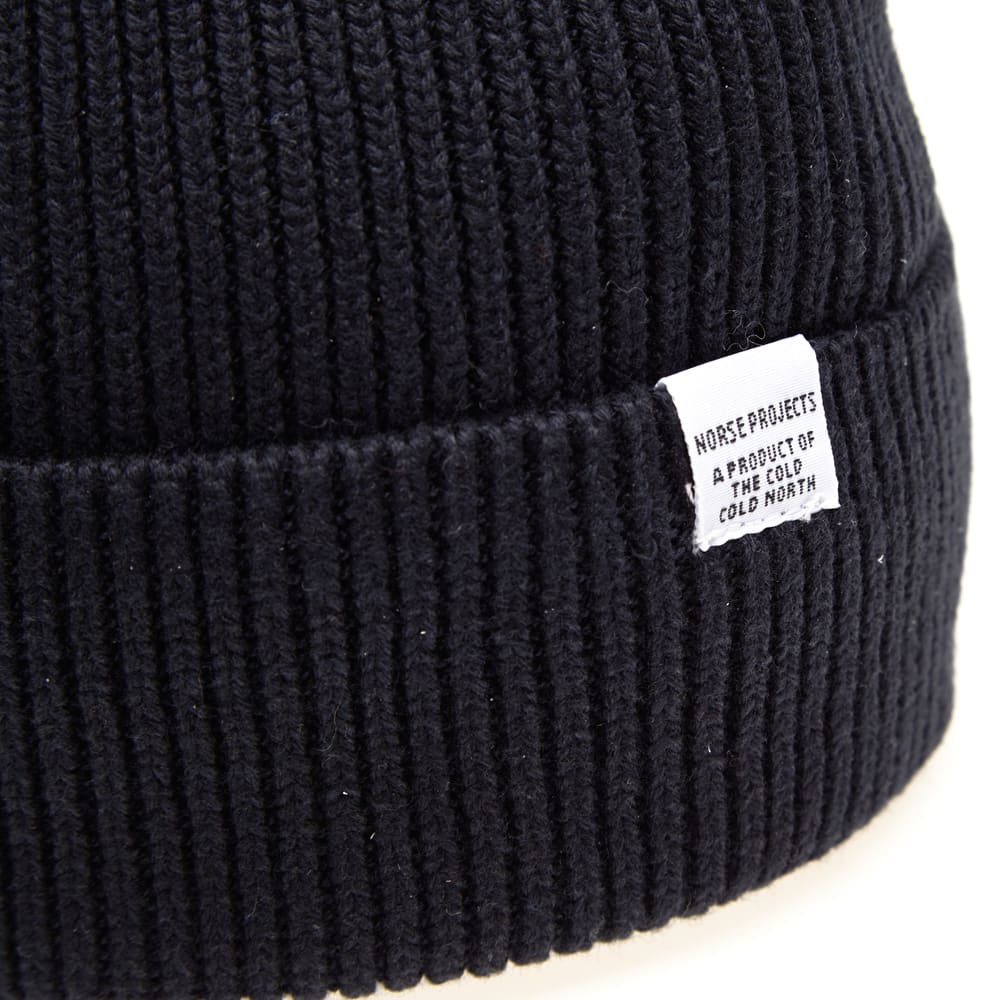 098a9303b Norse Projects Cotton Watch Beanie Dark Navy | END.