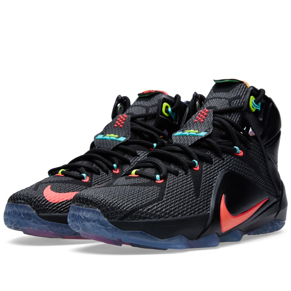 the latest 3a259 292f5 Nike LeBron XII 'Data'