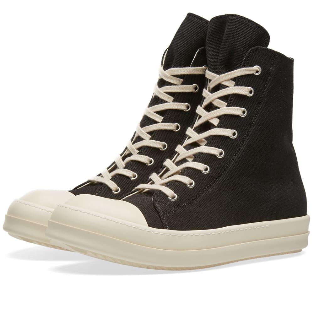 Rick Owens DRKSHDW Canvas High Sneaker