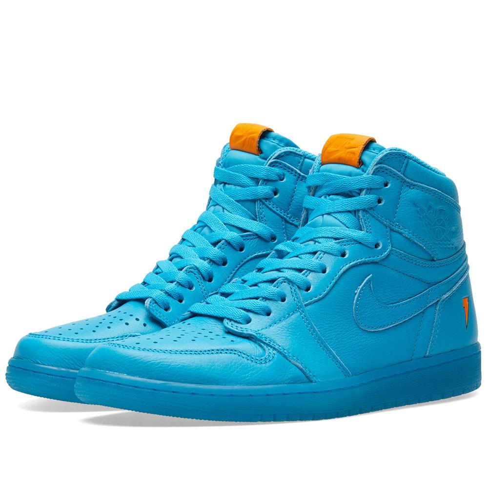 Shop Nike Air Jordan 1 Retro Og  Gatorade  In Blue 60c6e8d46