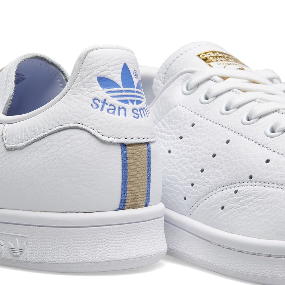 newest 9719a 659f7 Adidas Stan Smith W White, Real Lilac, Raw Gold   END.
