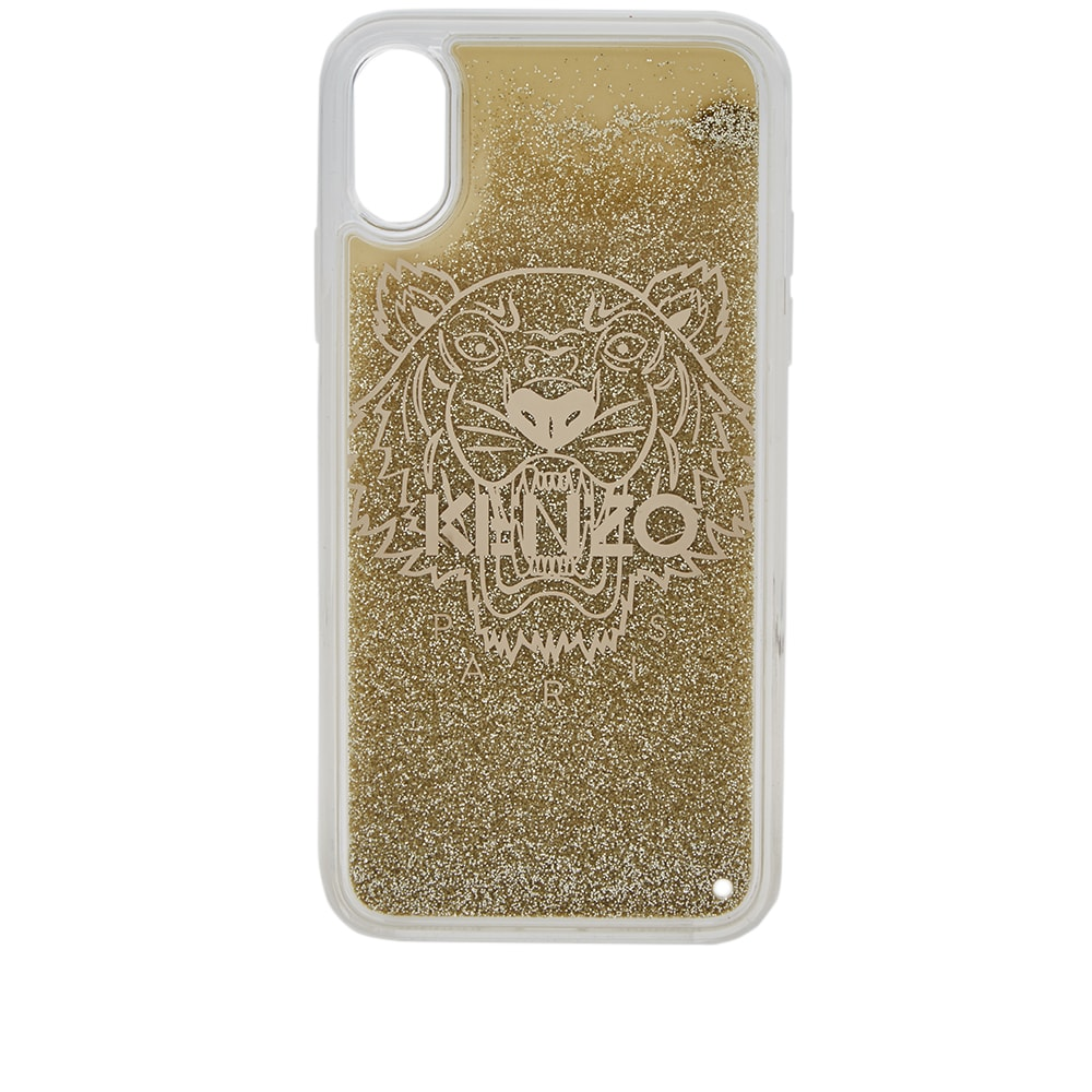 sports shoes 05630 1a489 Kenzo iPhone X Tiger Glitter Case