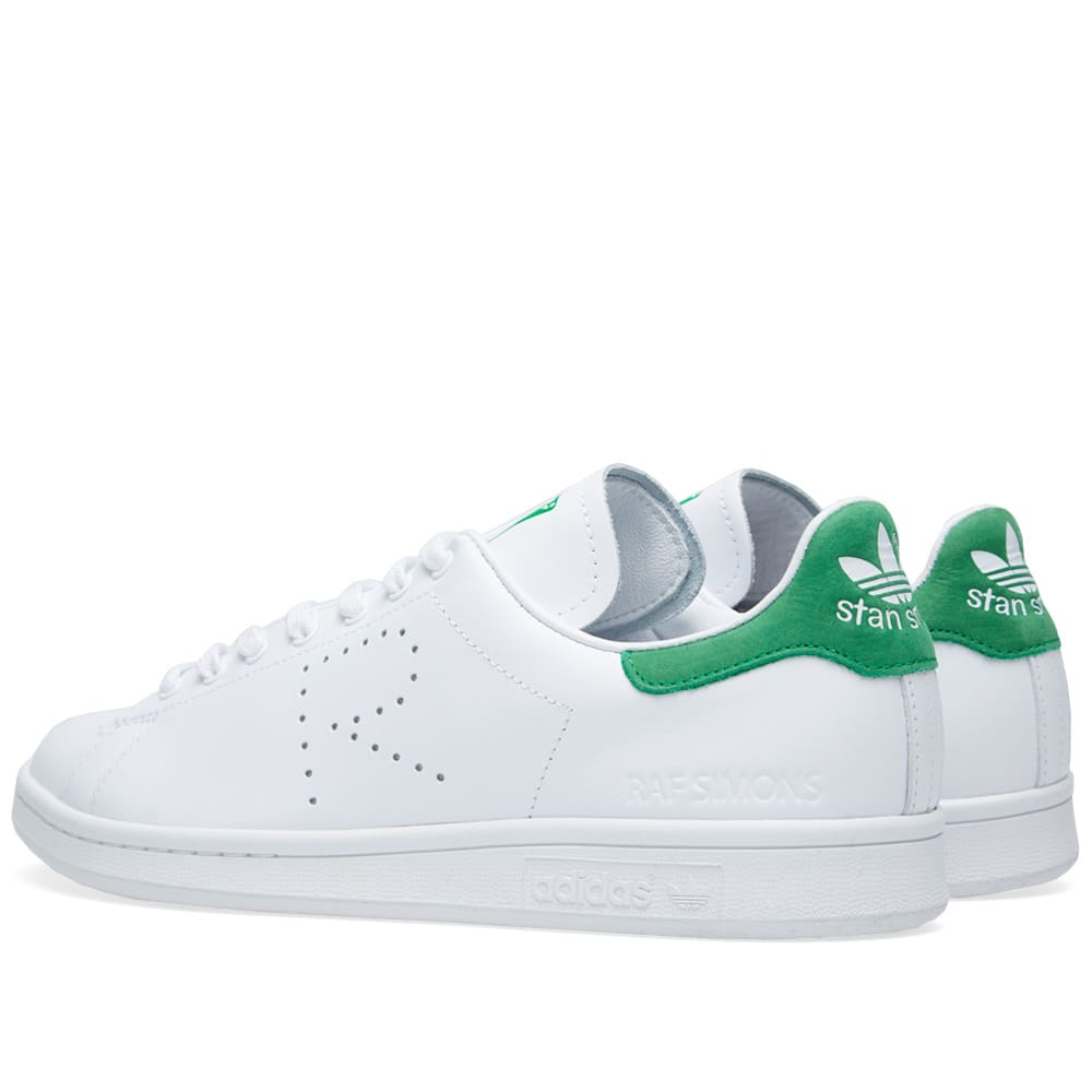 adidas x raf simons stan smith white green. Black Bedroom Furniture Sets. Home Design Ideas