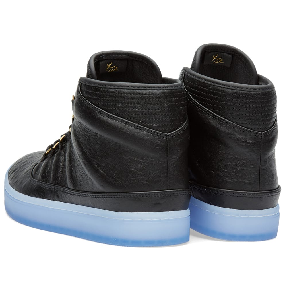 best authentic b1a5b da673 Nike Air Jordan Westbrook 0 Premium Black, Metallic Gold   Clear   END.