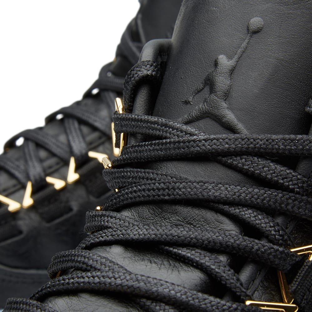 finest selection 558ff 15c33 Nike Air Jordan Westbrook 0 Premium. Black, Metallic Gold   Clear
