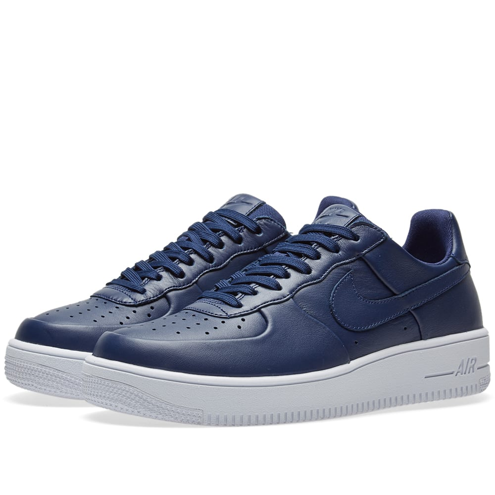 nike air force 1 ultra force leather binary blue white. Black Bedroom Furniture Sets. Home Design Ideas