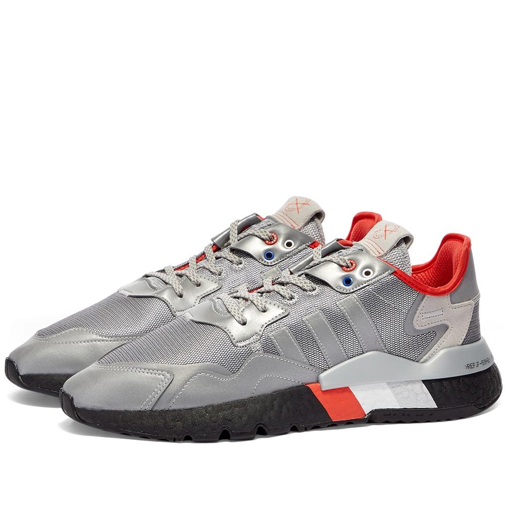 Adidas Nite Jogger Metallic Silver