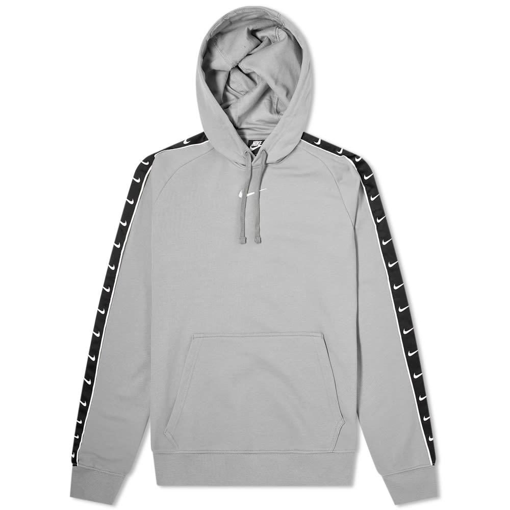 nike hoodie taped