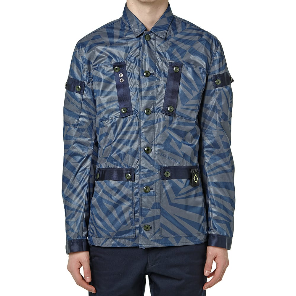 108f5837564c2 MA.Strum Field Outershirt Dazzle Camo | END.