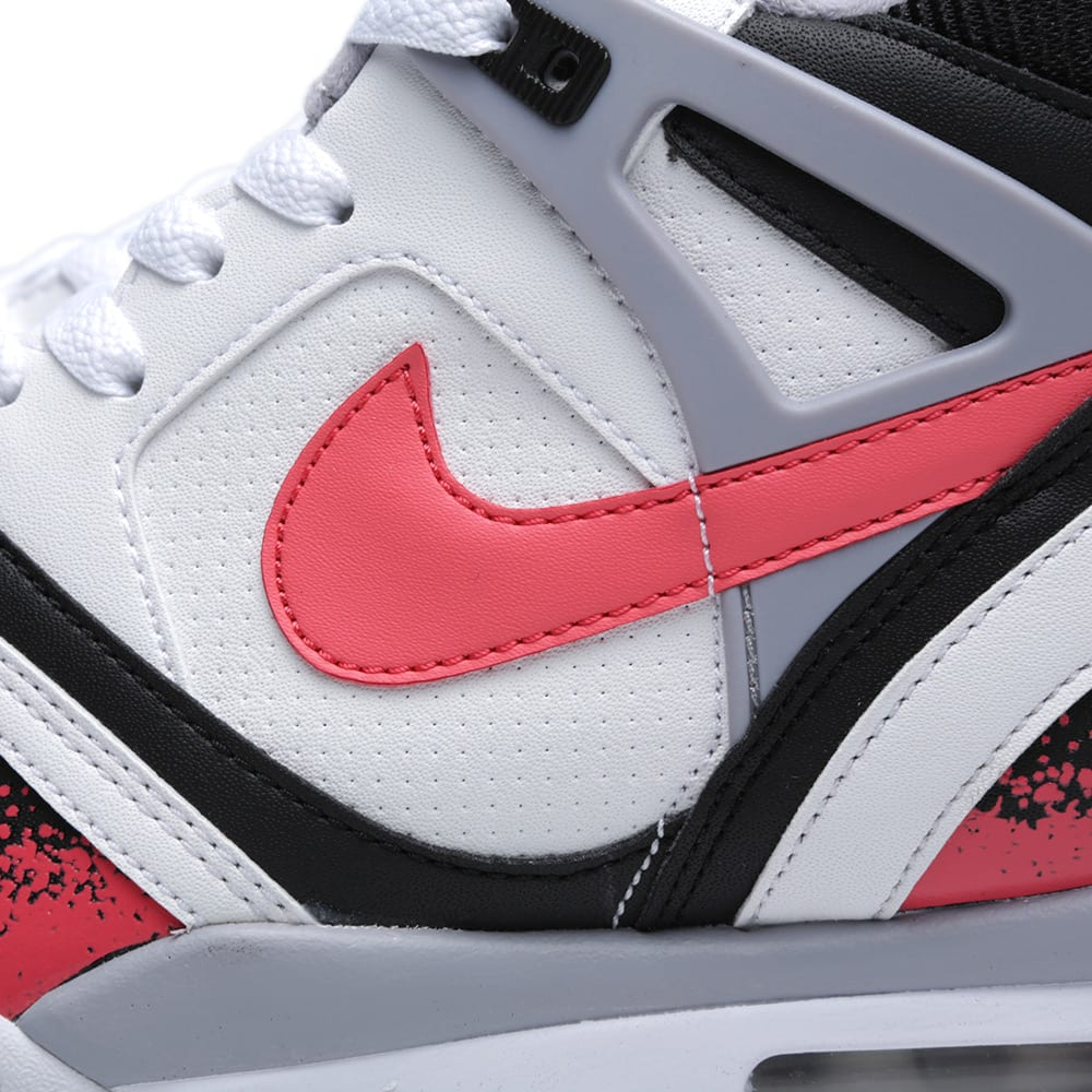 mezcla Motivar Corredor  Nike Air Tech Challenge II QS 'Hot Lava' White & Hot Lava | END.