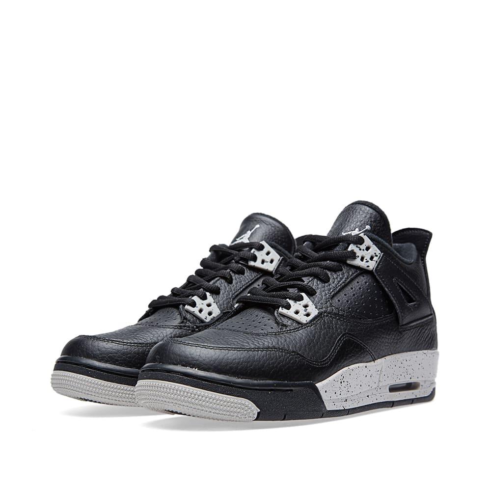 Nike Air Jordan IV Retro BG 'Oreo'