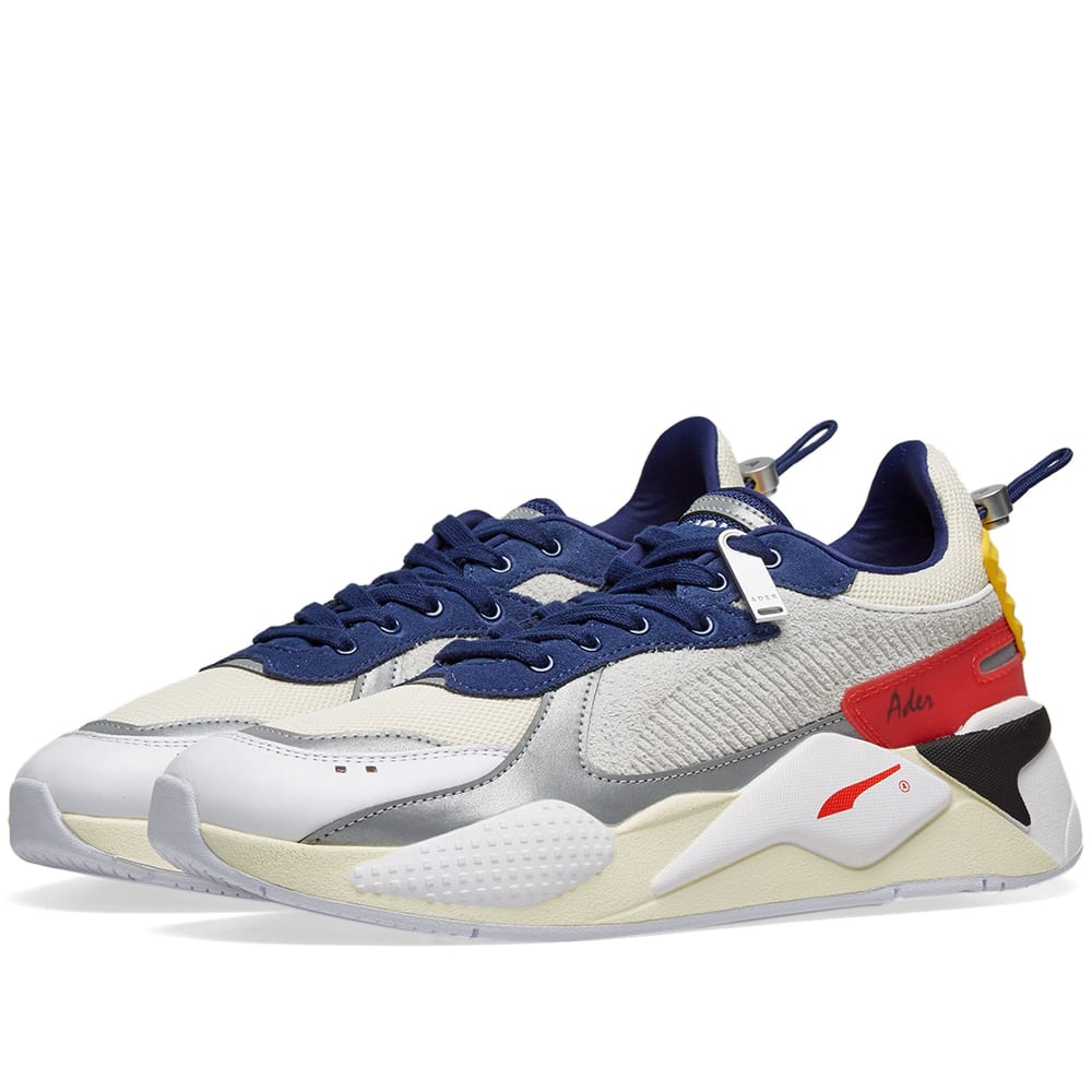 c4b795381 Puma x ADER error RS-X Whisper White, Blueprint & Red | END.