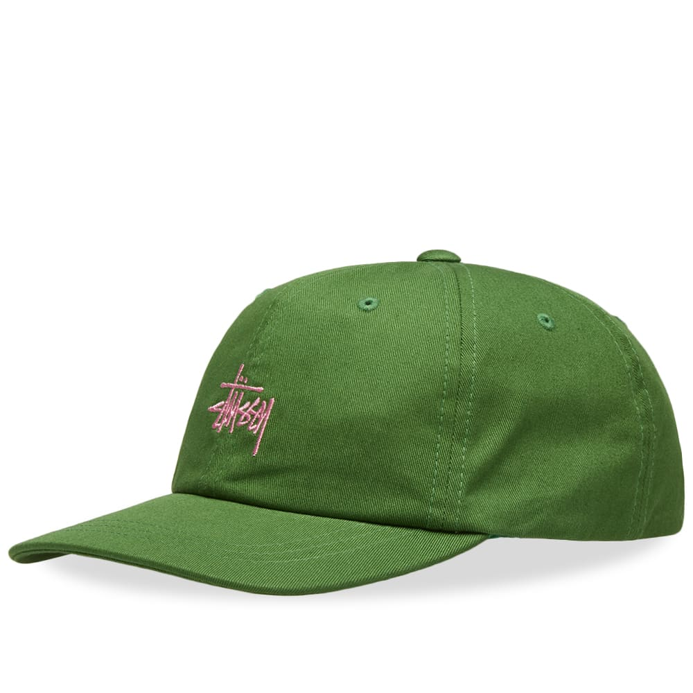 7ad25ddaa9f3e Stussy SP19 Stock Low Pro Cap Green
