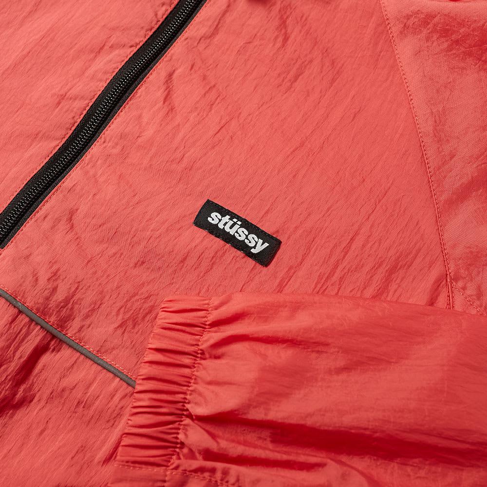 Details about  /Stussy Men/'s Sport Pullover Jacket Red