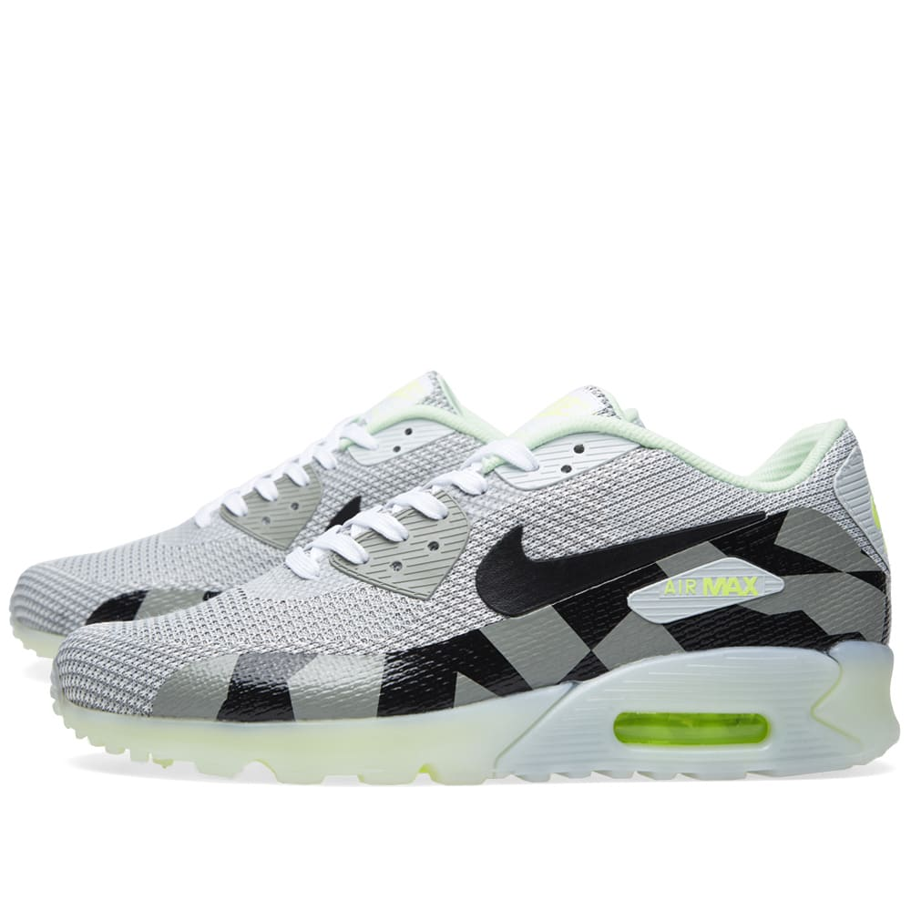 Nike Air Max 90 Jacquard Ice QS (White Black Grey Mist)
