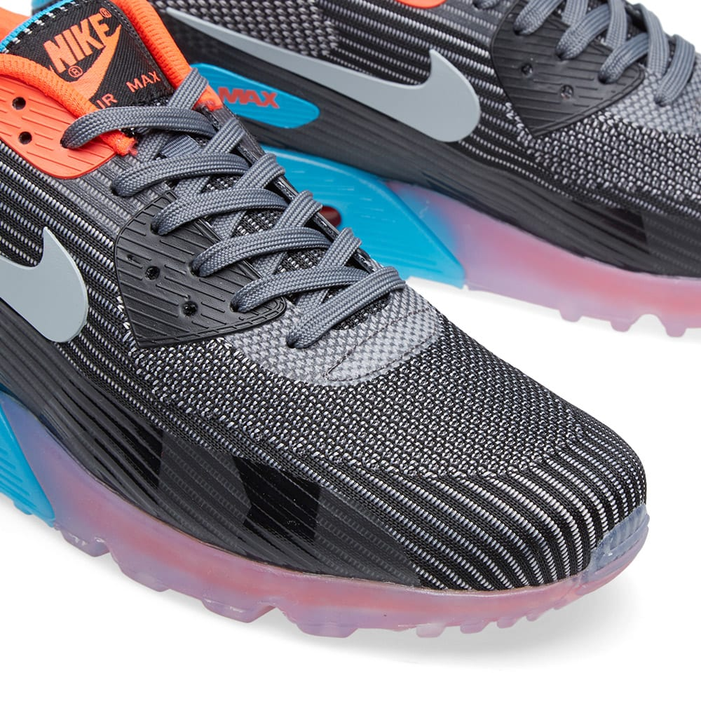 huge discount 61dfd daf89 Nike Air Max 90 KJCRD Ice QS Dark Grey   Blue Lagoon   END.