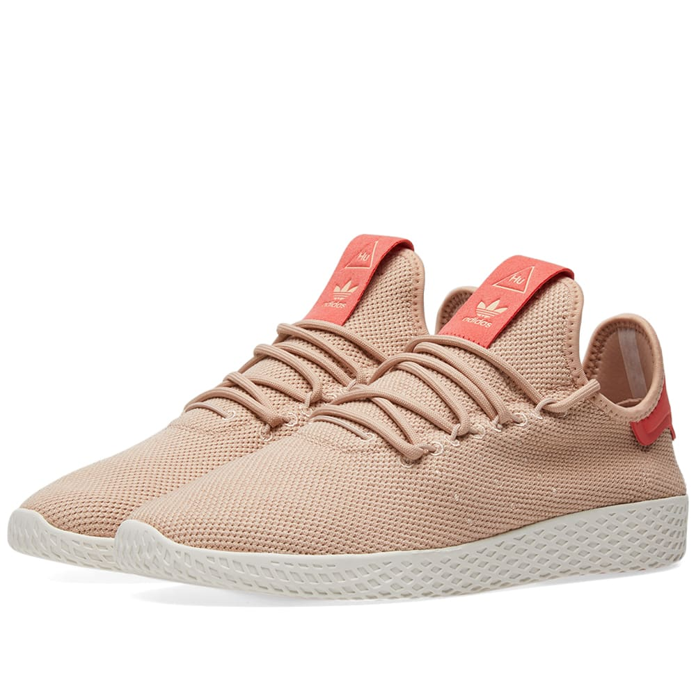 827fdd023ba21 Adidas x Pharrell Williams Tennis HU W Ash Pearl   Linen