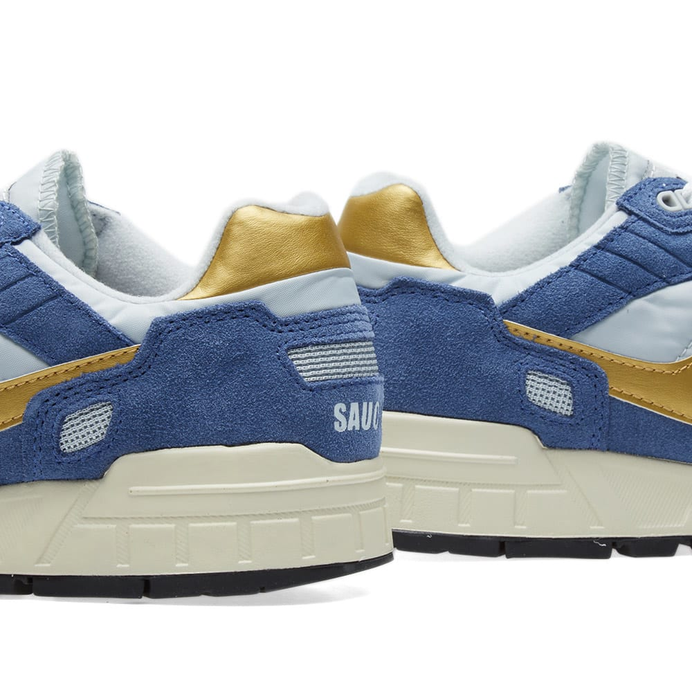 Saucony Shadow 5000 Vintage shoes blue grey gold