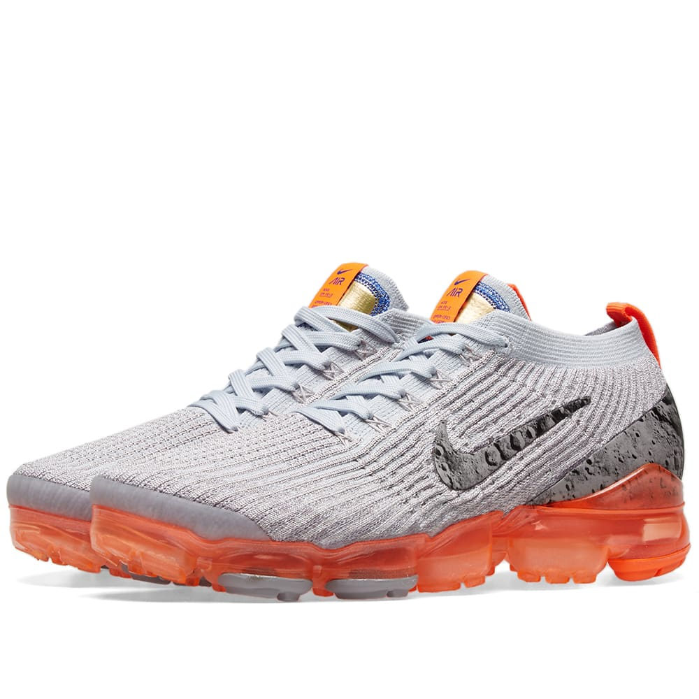 lowest price 380eb cae5d Nike Air Vapormax Flyknit 3 W Grey   Silver   END.