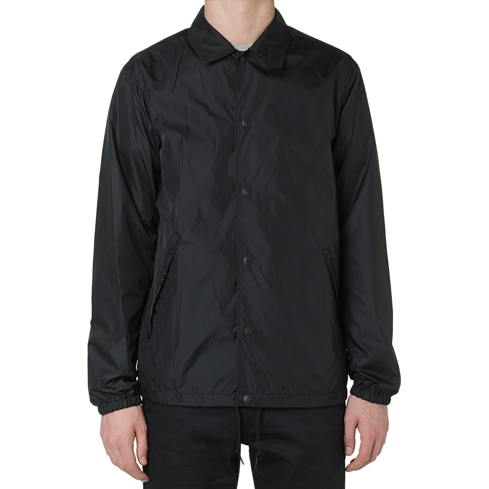 Journal standard nylon taffeta coach jacket black for Coach jacket